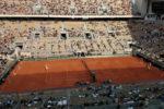 テニス全仏オープン錦織の試合を見てきた
